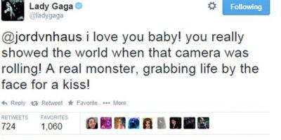 Lady Gaga oyó de él, pues bailó una de sus canciones. Lo felicitó. Foto:Twitter