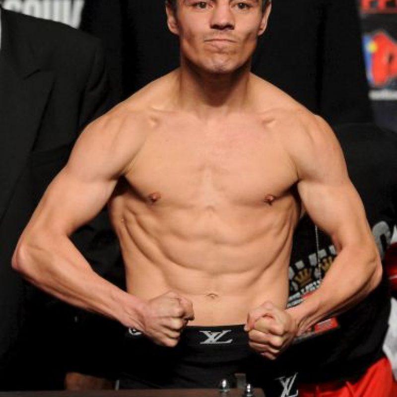El boxeador mexicano Jorge Arce, antes de pelear contra el mexicano Christian Mijares, el 14 de septiembre de 2007. Foto:Getty Images