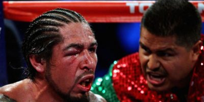 Antonio Margarito, después de perder ante Miguel Ángel Cotto. Foto: Getty Images
