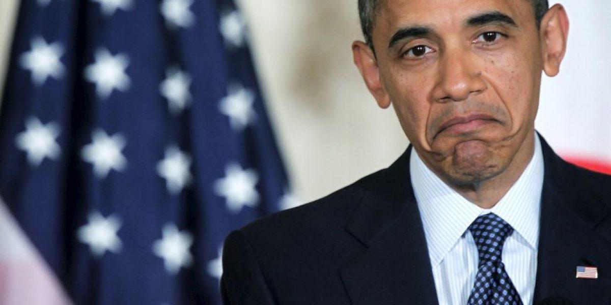 Rechazan tarjeta de crédito de Barack Obama