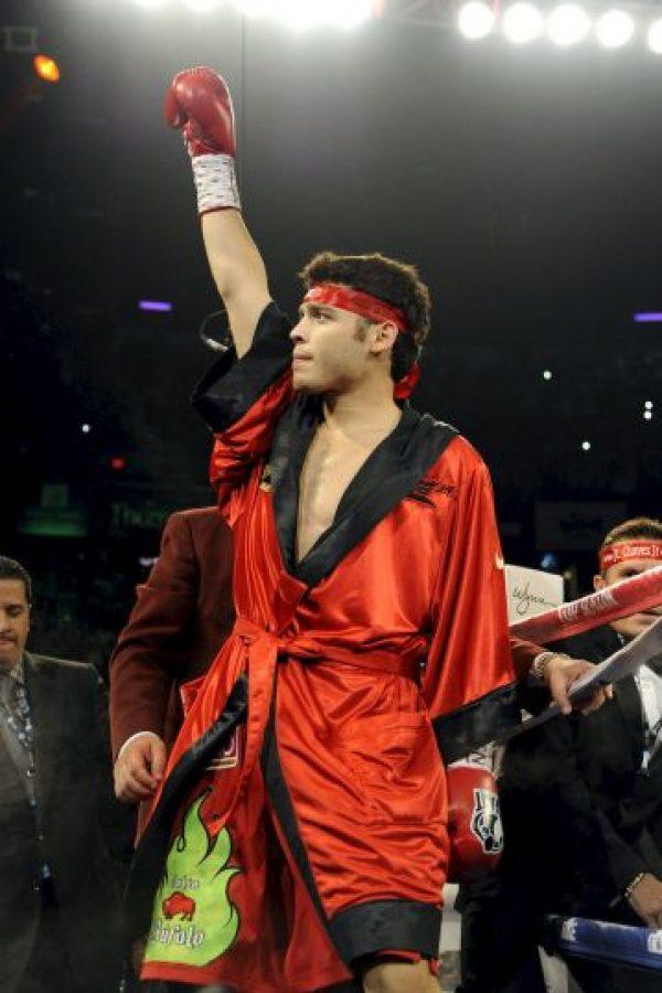 El boxeador mexicano Julio César Chávez Jr., previo a su pelea ante el argentino Sergio Martínez, el 15 de septiembre de 2012. Foto:Getty Images