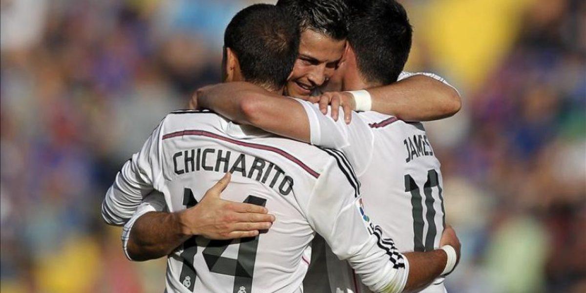 0-5. El Real Madrid se dosificó, pero goleó a un Levante con pocos recursos