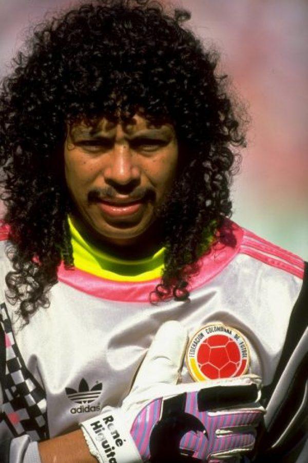 Con lo que le dio el título al Atlético Nacional de Colombia Foto:Getty Images