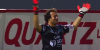 El portero de César Vallejo fue el héroe de su equipo Foto:Youtube: FootballManiaChannel