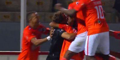 Metió por primera vez a su equipo a los cuartos de final de la Sudamericana Foto:Youtube: FootballManiaChannel