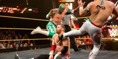 Actualmente es Campeón en Parejas de la NXT, junto a Kalisto Foto:WWE