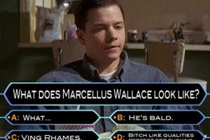 """Los mejores memes de """"Pulp Fiction"""" están inspirados en la pareja de sicarios conformada por Vincent y Jules, en la escena en que hacen """"ajuste de cuentas"""". Foto:MemeGenerator"""