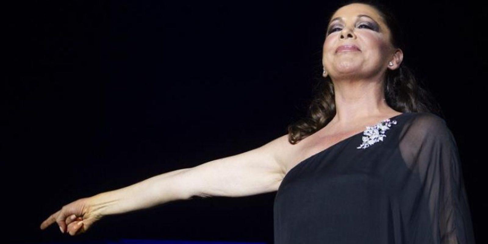 La cantante Isabel Pantoja. EFE