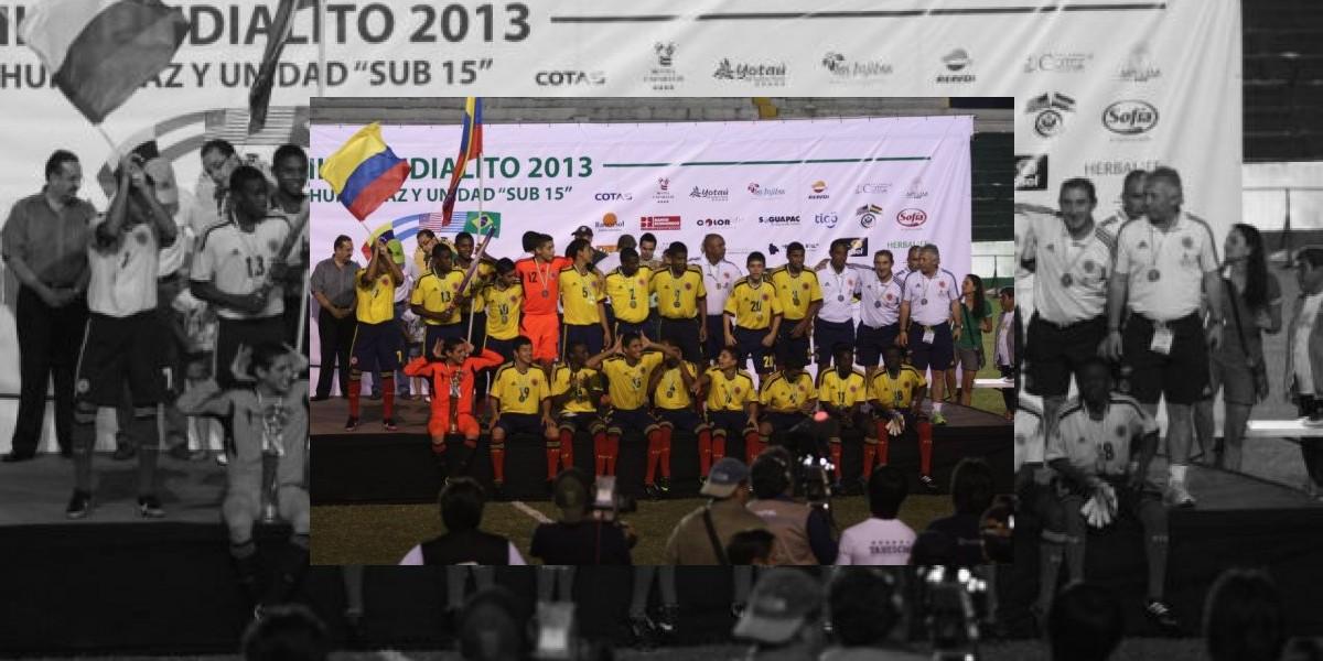 Los pequeños de la Selección Colombia se preparan para torneo internacional
