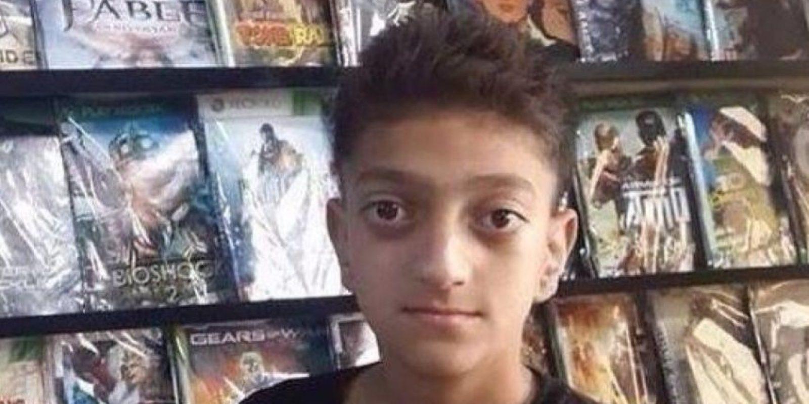 Le encontraron parecido con este niño Foto:Twitter