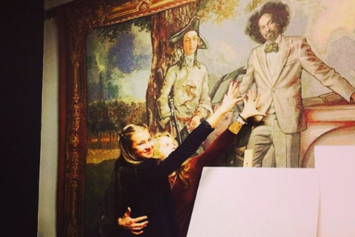 Snoop Dogg en una pintura Foto: Instagram/Snoop Dogg
