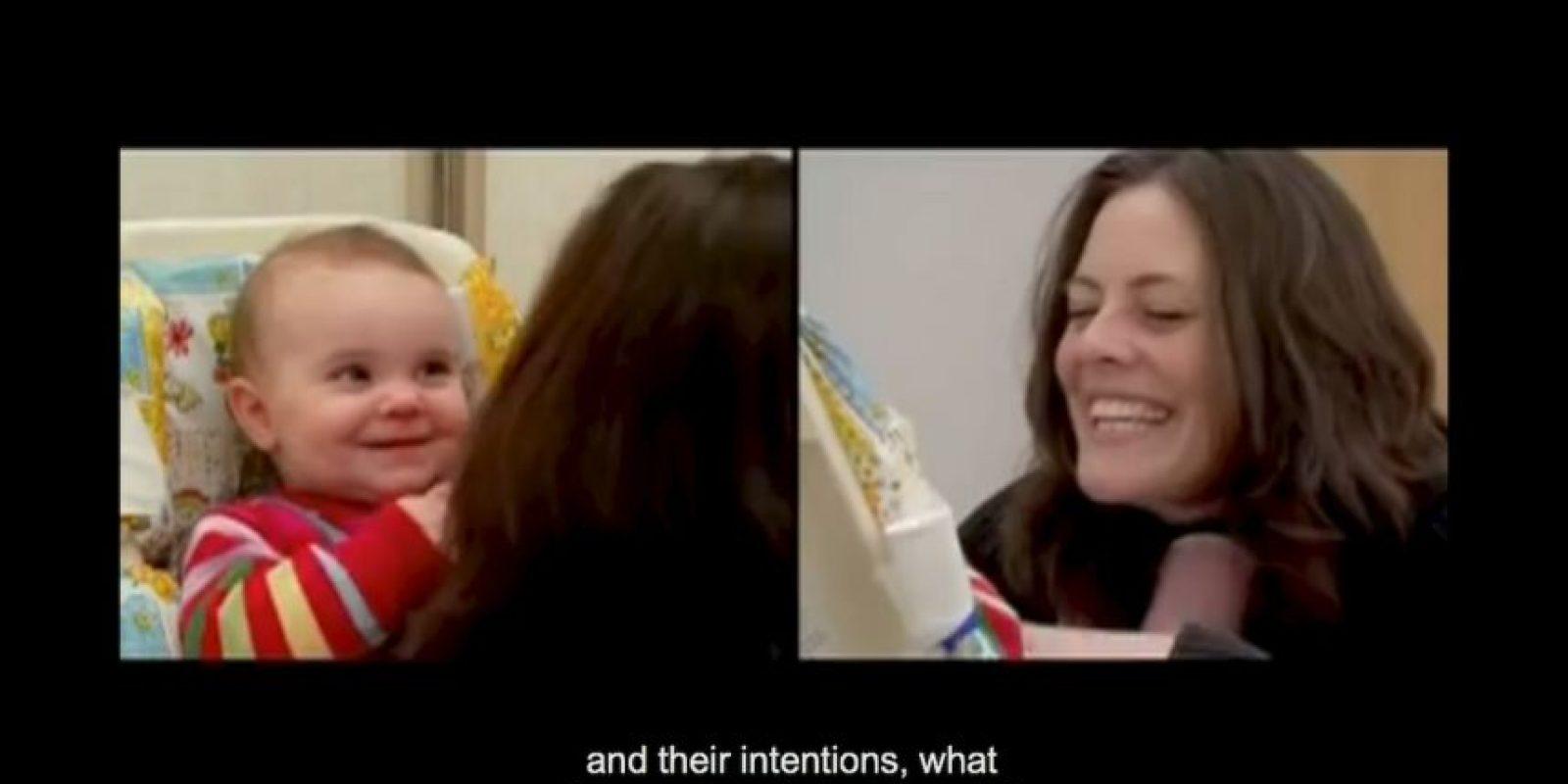 Este experimento ha demostrado que los niños necesitan atención Foto:Captura de Pantalla UMass