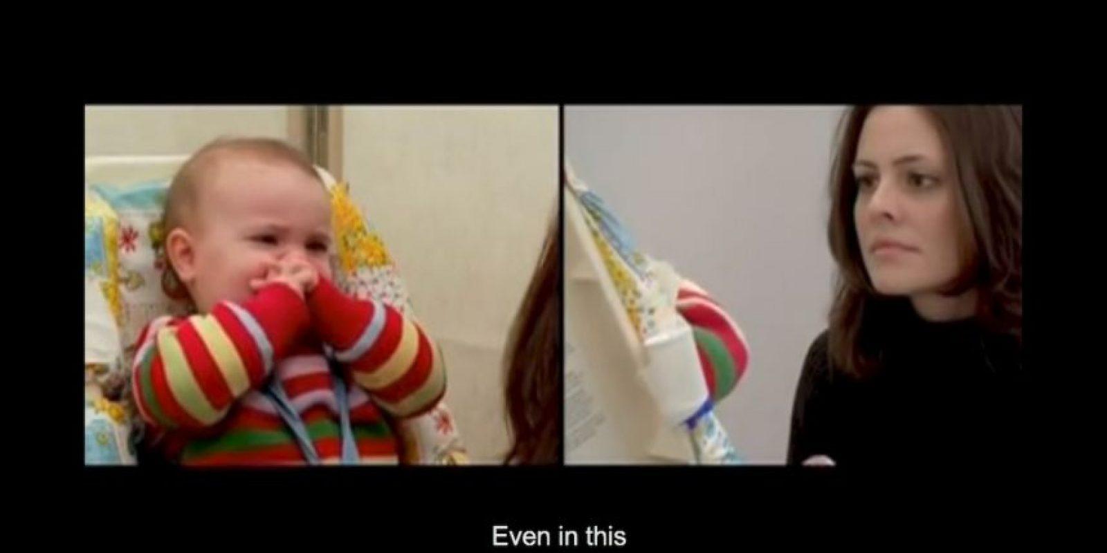 Los bebés pueden retomar su desarrollo a pesar de haber sufrido negligencia por parte de sus padres Foto:Captura de Pantalla UMass