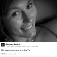 Courtney Sanford, antes de chocar Foto:Facebook