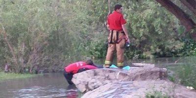 Pamela Hernández cayó al agua y se ahogó Foto:Protección Civil México