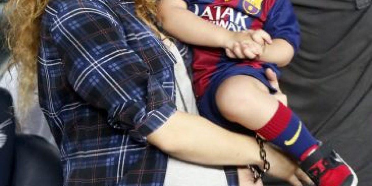 Fotos: Así luce Shakira su barriguita de embarazada por estos días