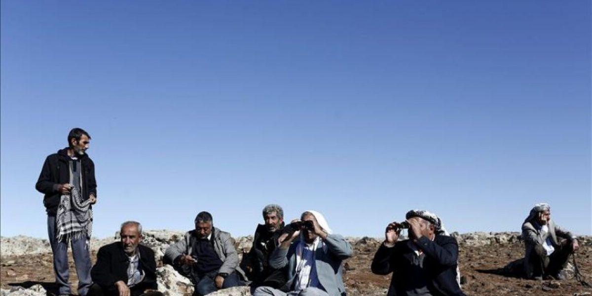 Yihadistas se hacen con parte del cargamento de armas para kurdos en Kobani
