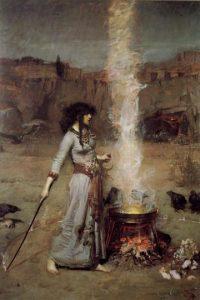 Desde simples hechizos hasta la página oficial de los Wiccans, todo se puede usar. Foto:Wikipedia