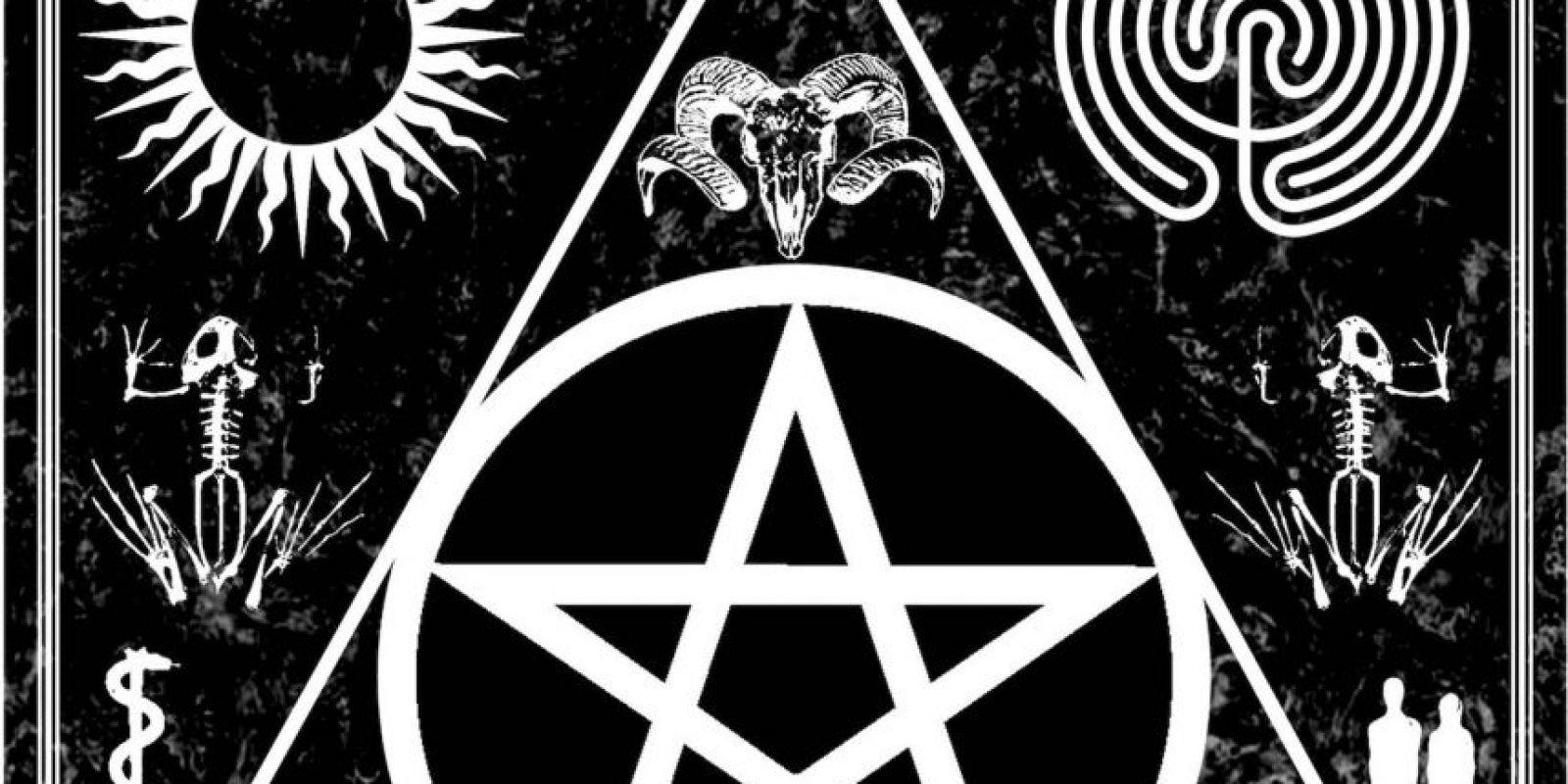 Triángulo: Simboliza el poder femenino y la fuerza. Foto:Wikipedia