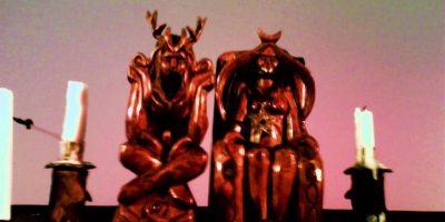 Cuernos: Sirven para simbolizar a Dios y la virilidad masculina. Foto:Wikipedia