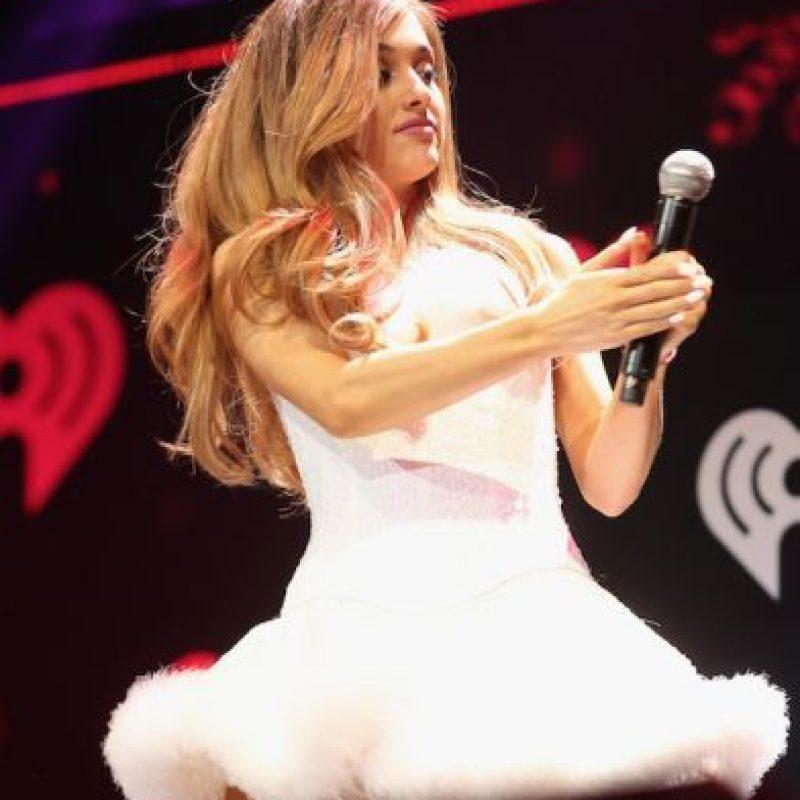 Ariana no responde preguntas sobre su relación con Big Sean Foto:Getty Images