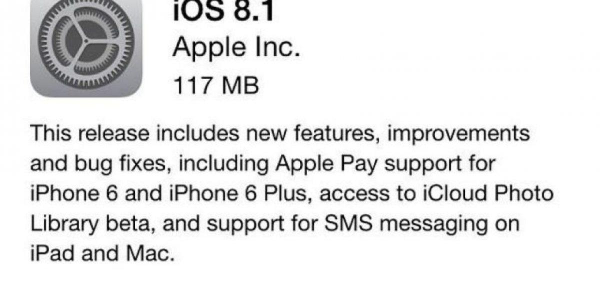 iOS 8.1 ya está disponible gratis: Estas son las novedades destacadas