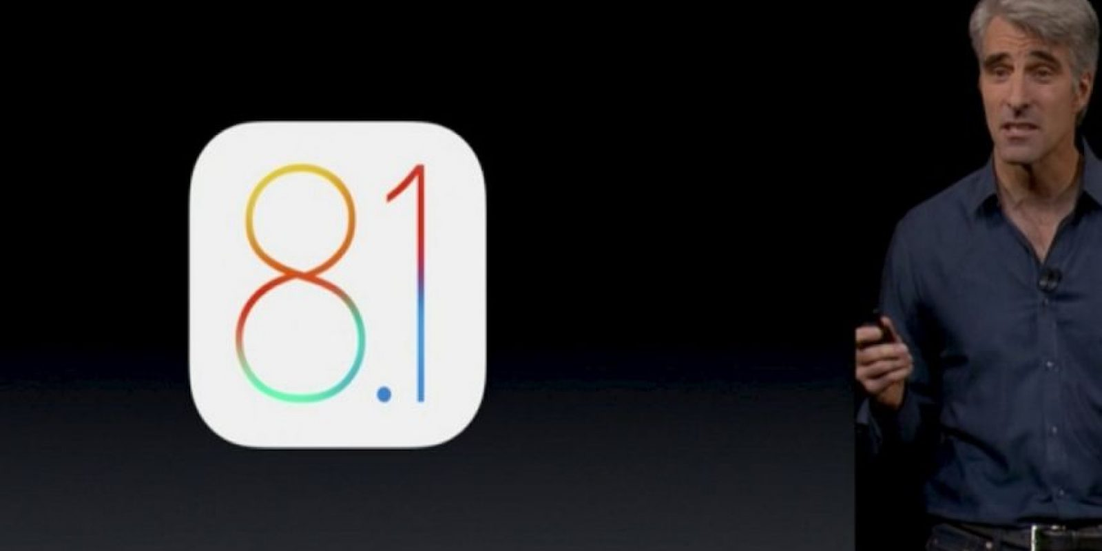 iOS 8.1 fue anunciada el pasado jueves. Foto:Apple