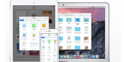iCloud, para estar interconectados en todos sus dispositivos. Foto: Apple