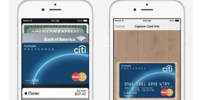 Apple Pay, disponible únicamente en los Estados Unidos. Foto: Apple