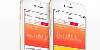 Health es una nueva aplicación de salud. Foto:Apple