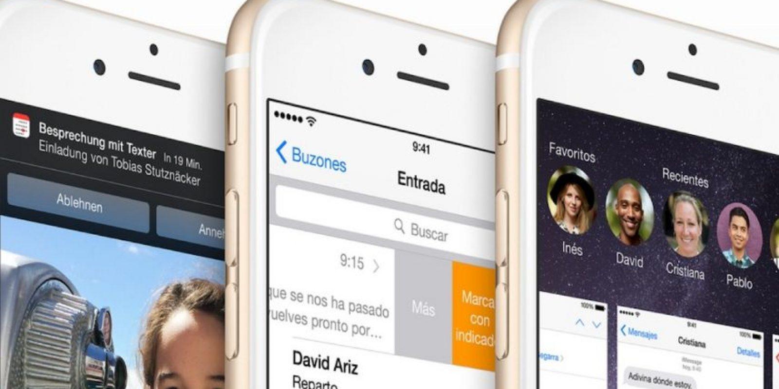 El diseño es más limpio y accesible. Foto:Apple