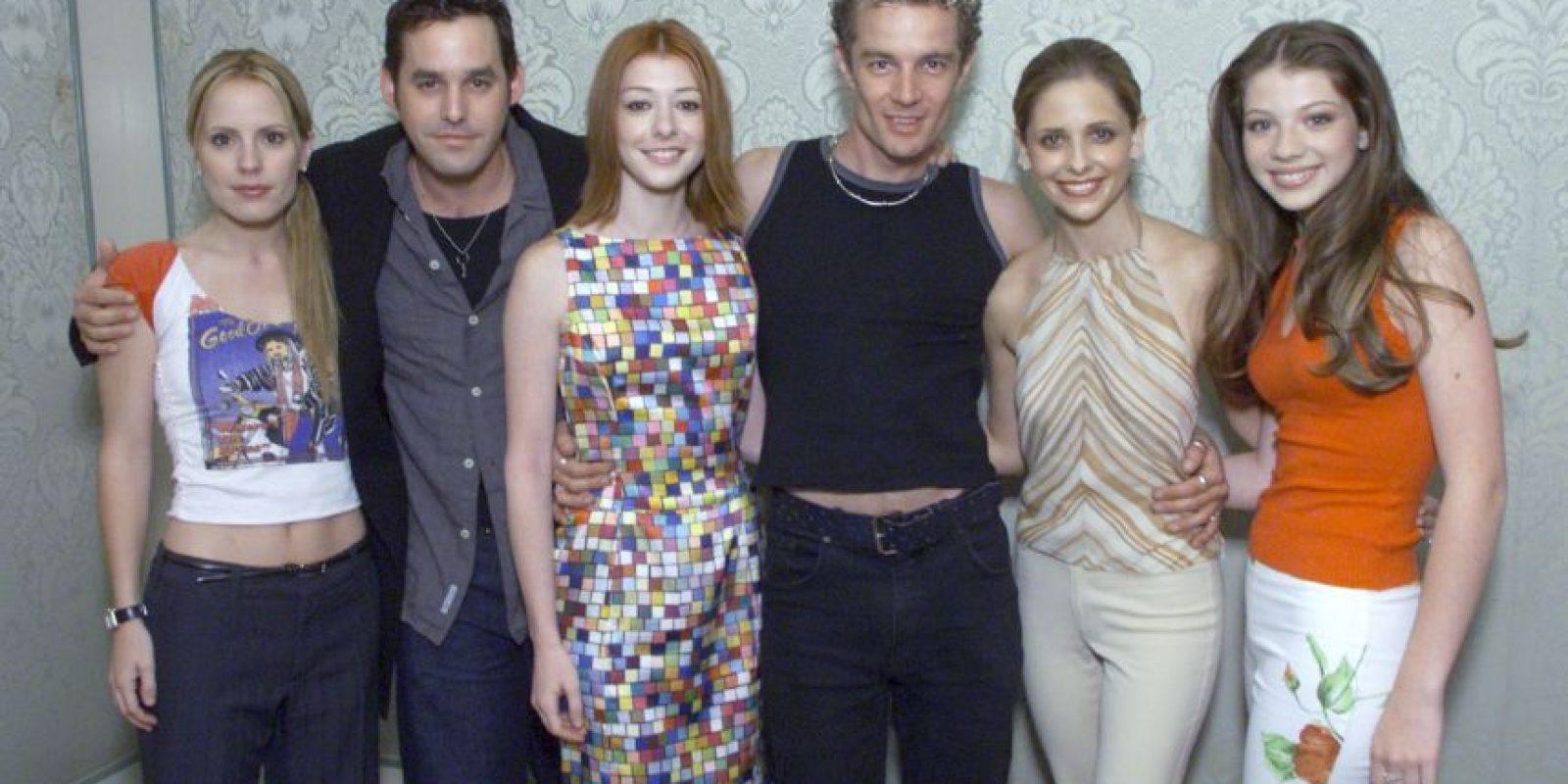 """Fue parte del elenco de """"Buffy la Cazavampiros"""" Foto:Getty Images"""