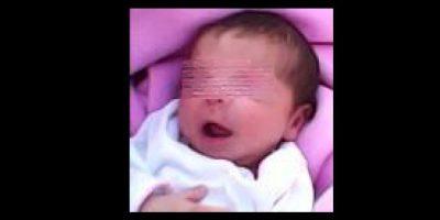 Angely Vanesa Bejarano Urrea, de 18 días de nacida. Foto:Cortesía Policía