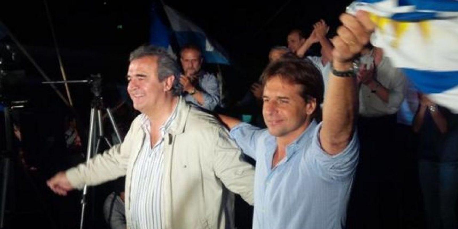 Luis Calle Pou (derecha) Foto:Twitter @LuisLacallePou