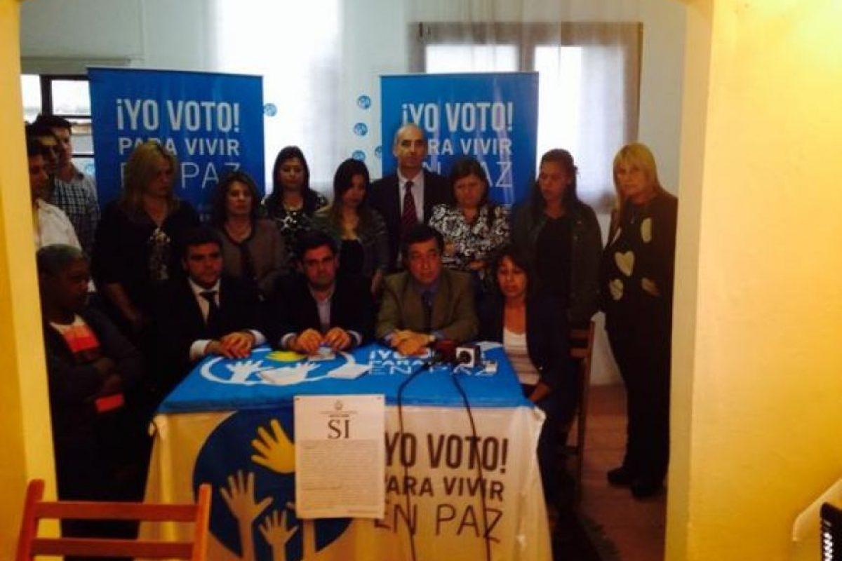 Pedro Bordaberry (centro) Foto:@PedroBordaberry