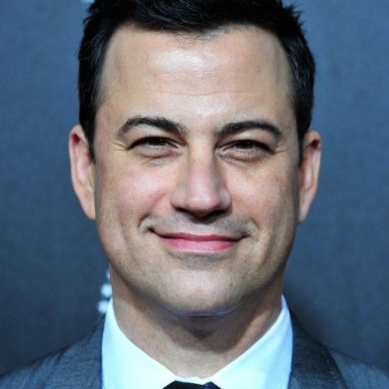 El comediante Jimmy Kimmel llegó a tomar estimulantes que lo mantuvieran despierto en el trabajo. Foto:Getty Images