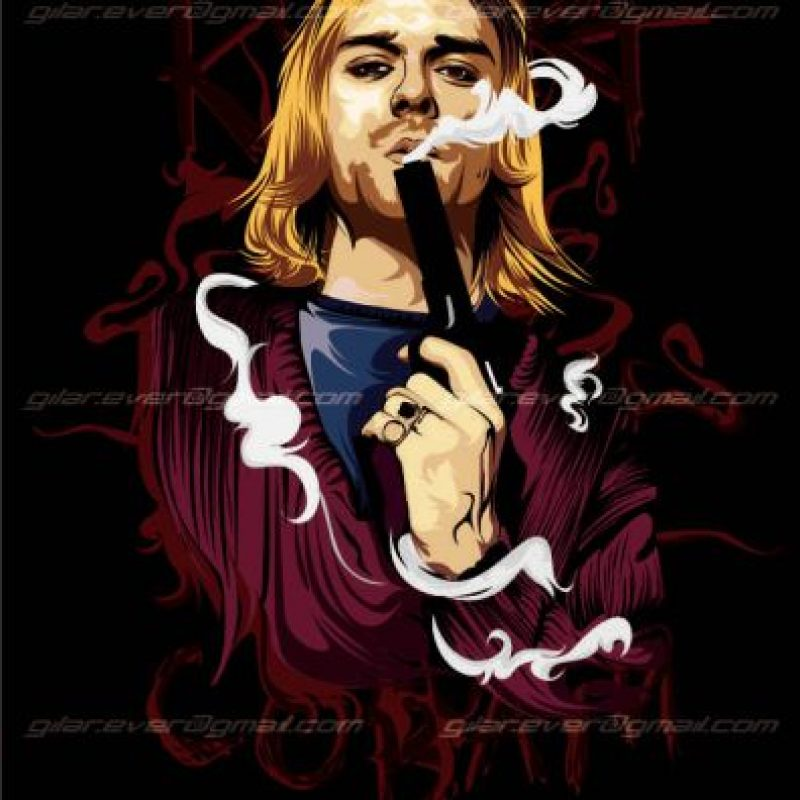 Kurt Cobain Foto:Flickr