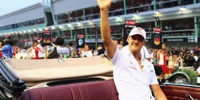 Recorría la pista antes de cada Gran Premio. Foto:Getty Images