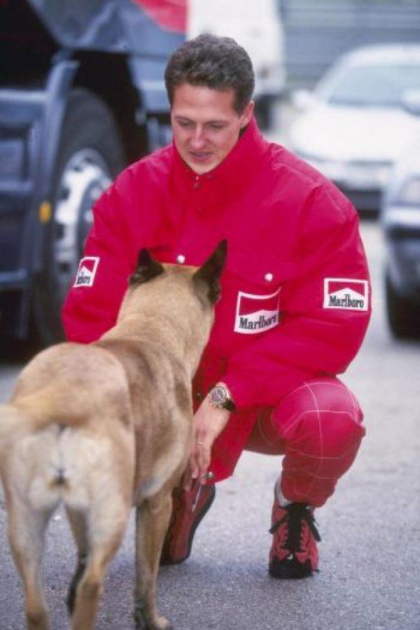 Pasaba tiempo con su perro. Foto:Getty Images