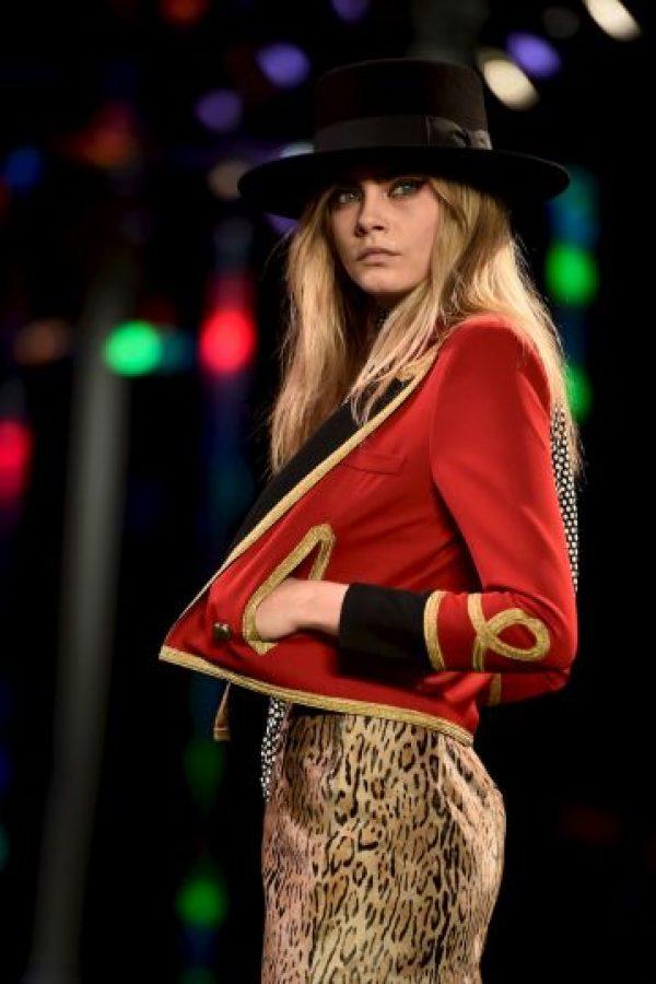 Fue rostro de la campaña Beauty de Burberry Foto:Getty Images