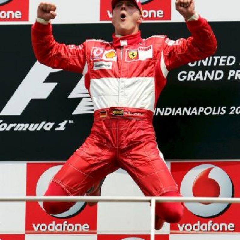 Esta imagen se repetía constantemente en la Fórmula 1. Foto:Getty Images
