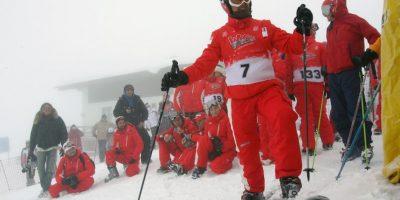 El esquí, de sus actividades preferidas. Foto:Getty Images