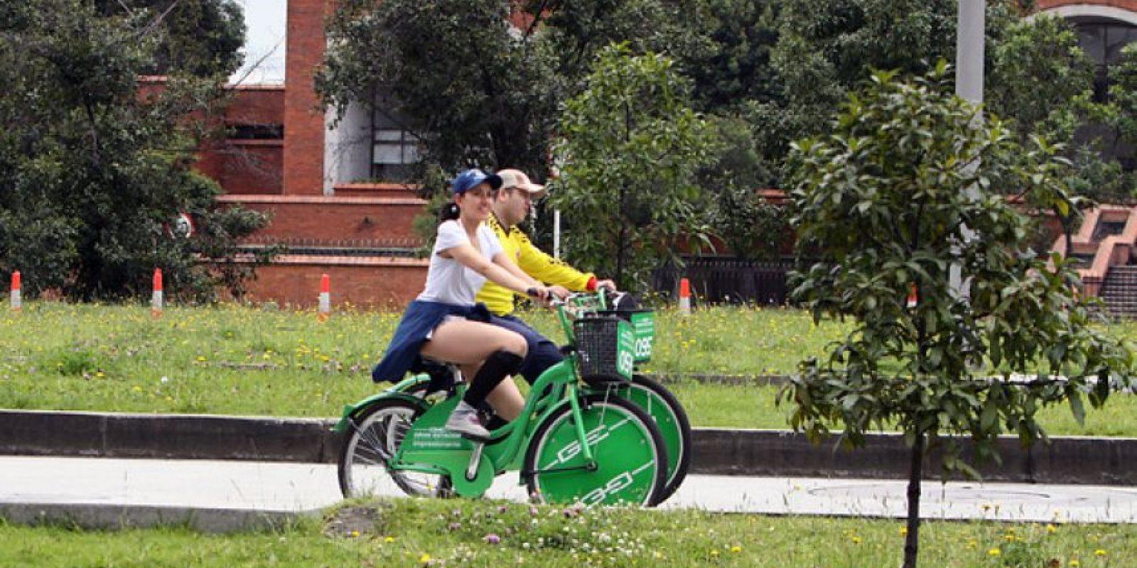 El uso de la bicicleta y menos estrés es fundamental. Foto:Colprensa