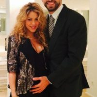 Shakira compartió su segundo embarazo en Twitter Foto:Twitter