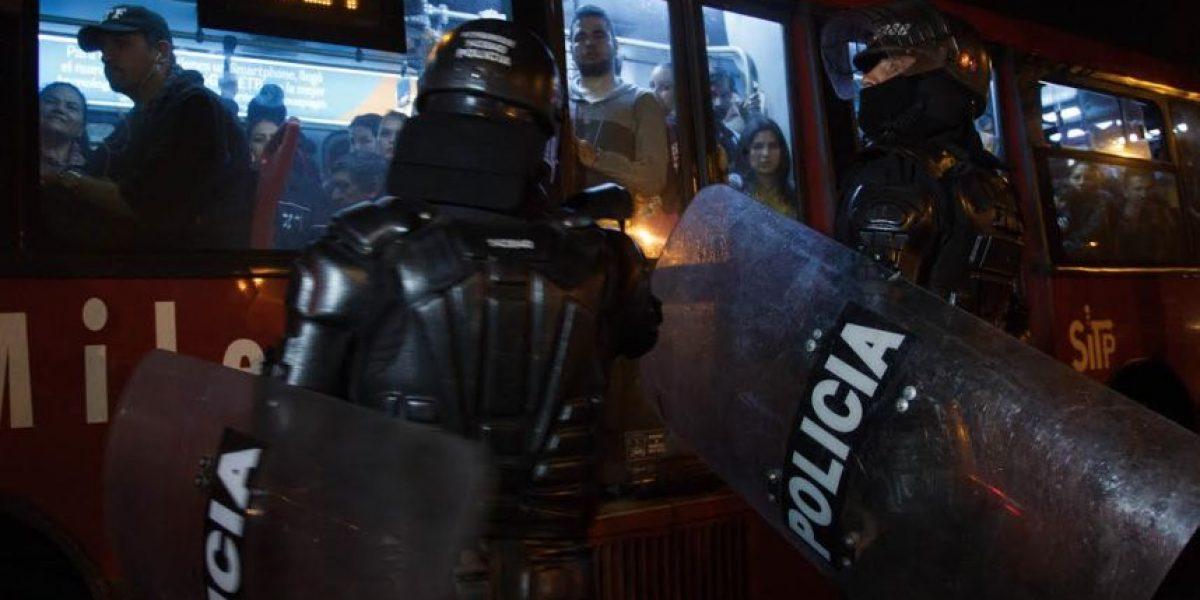 FOTOS: Caos en la Caracas y la Autonorte por protestas