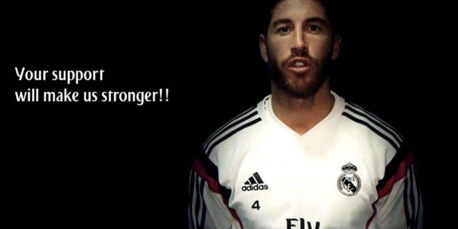 El español Sergio Ramos Foto:Youtube: ToreTToHDTV