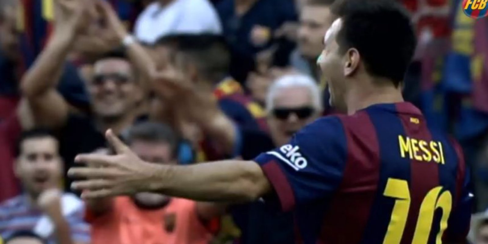 Y solo muestran una selección con las mejores imágenes de la temporada Foto:Youtube: FC Barcelona