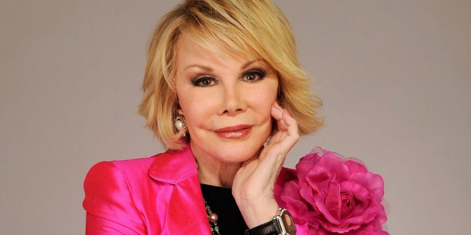 Joan Rivers también es un tema de Halloween Foto: Getty Images
