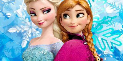 Elsa y Anna, de 'Frozen', sobre todo Elsa, también son las favoritas este año Foto:Disney