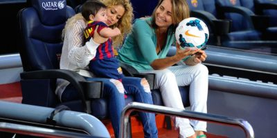 Shakira ha estado en la banca del club catalán. Foto: Getty Images